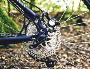 Bike on Trail