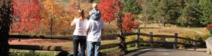 Family Walking on Paved Trails