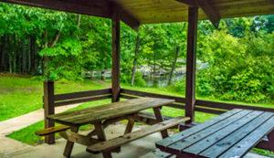 Swine Creek Reservation Picnic Facilities
