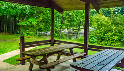 Swine Creek Reservation Picnic Facilities