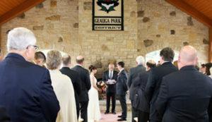 Wedding at Orchard Hills Park Shelter