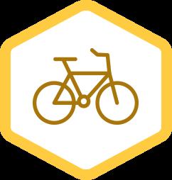 Geauga Park District Biking Icon