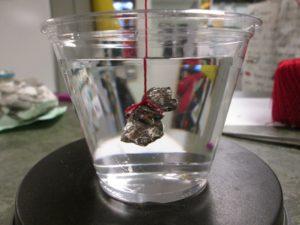 Specific gravity demonstration