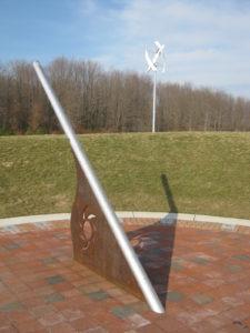 (Wind turbine at Observatory Park)